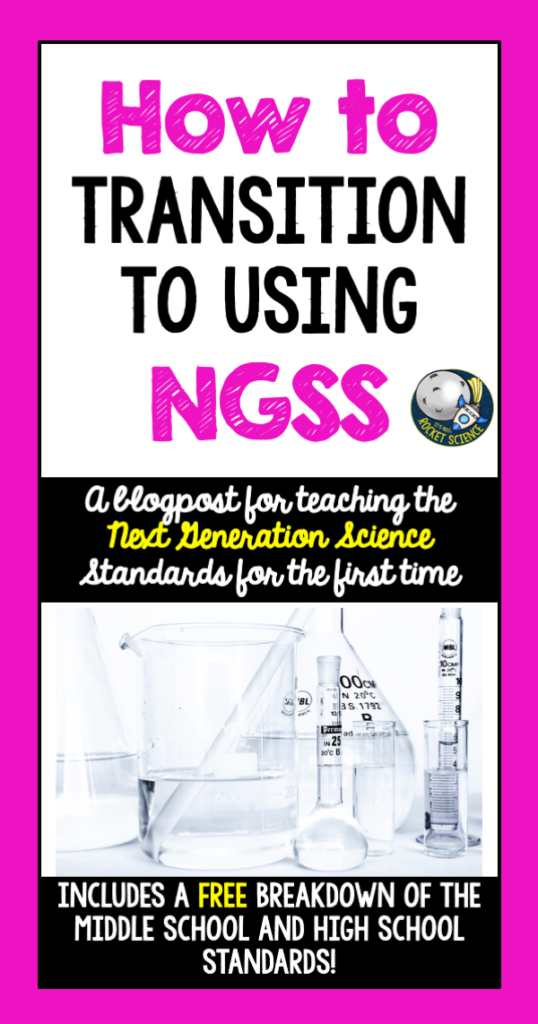 Transitioning from state standards to the Next Generation Science Standards can be overwhelming at first.  This blogpost details 5 tips and guidelines for effectiveness with using NGSS, including teaching with phenomena, and specific tips for high school biology and physical science teachers.