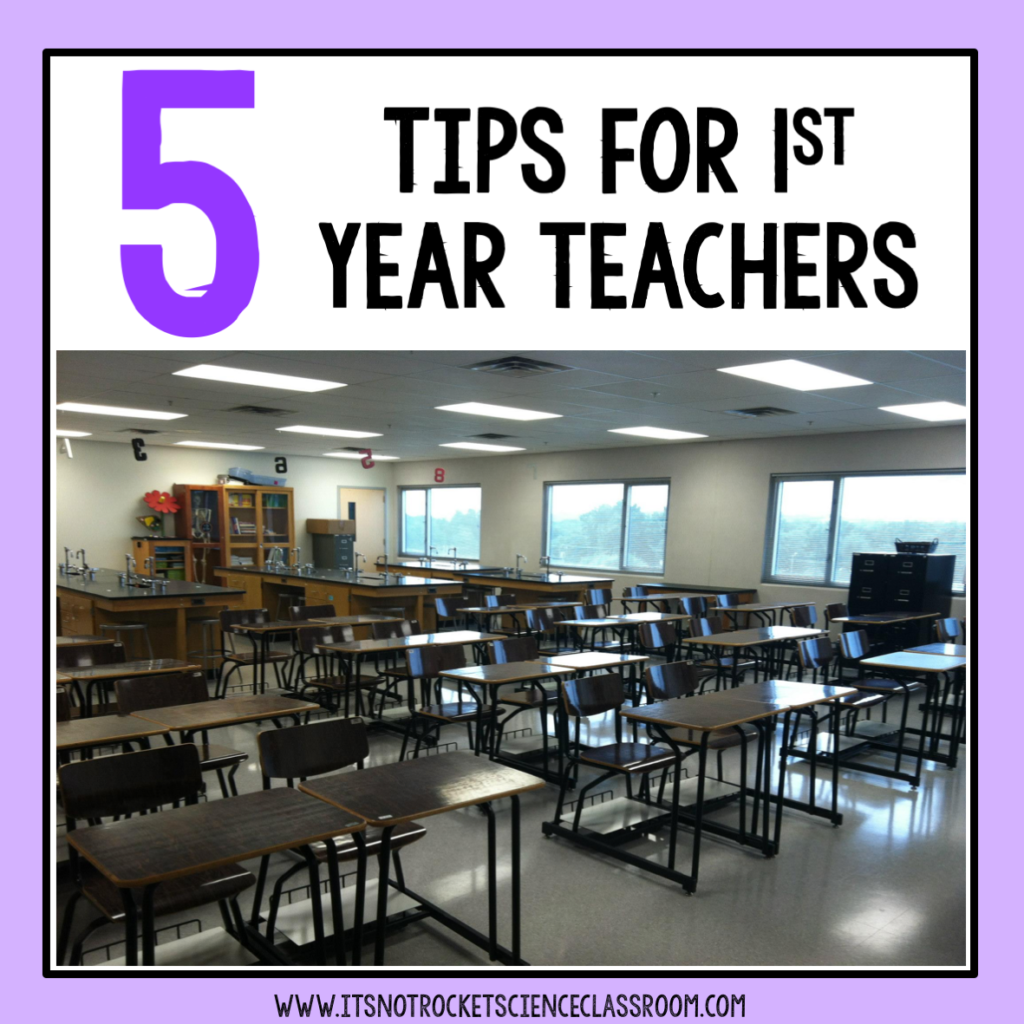 tips for first year teachers