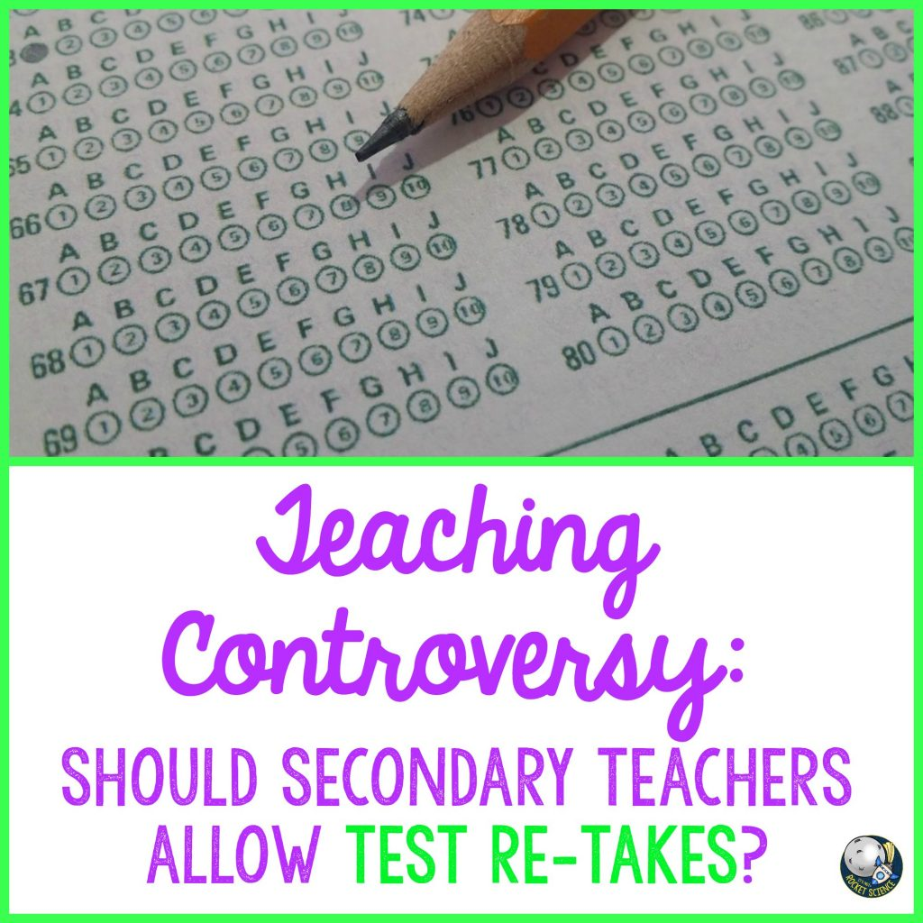 allowing students to re-take tests