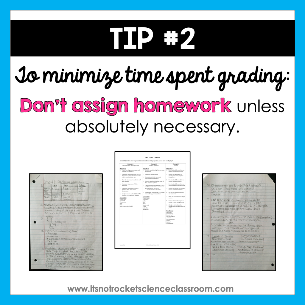 minimize grading