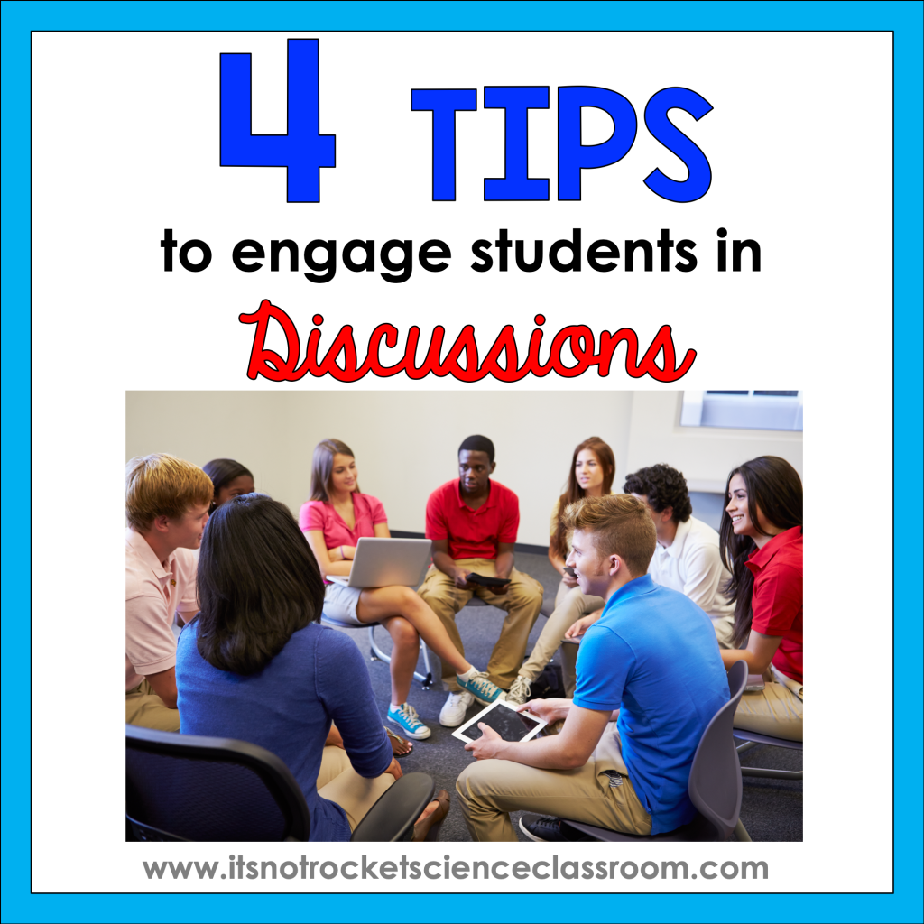 engage students in discussion
