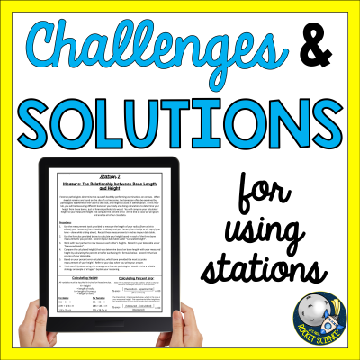 Challenges and solutions for using stations