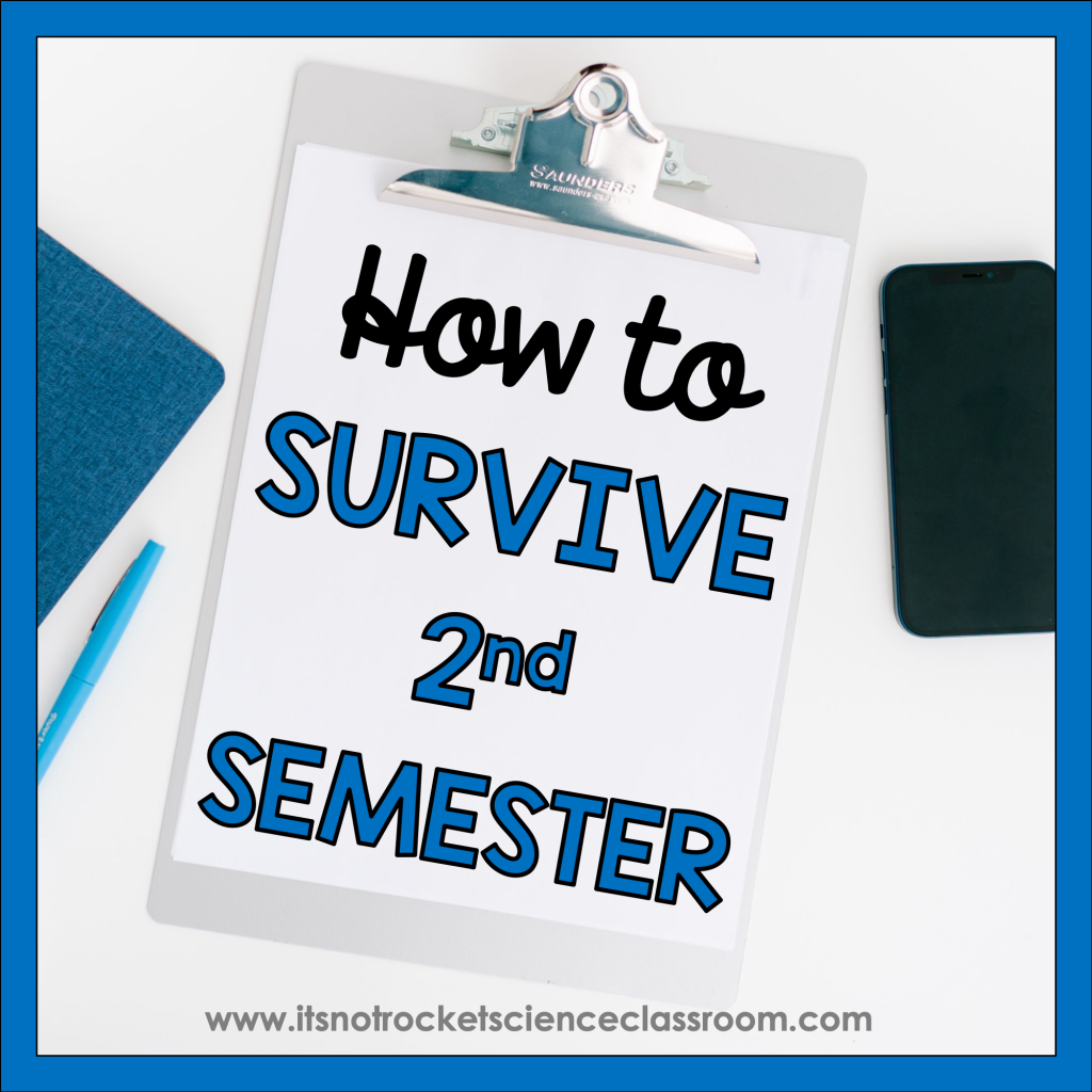 How to survive second semester