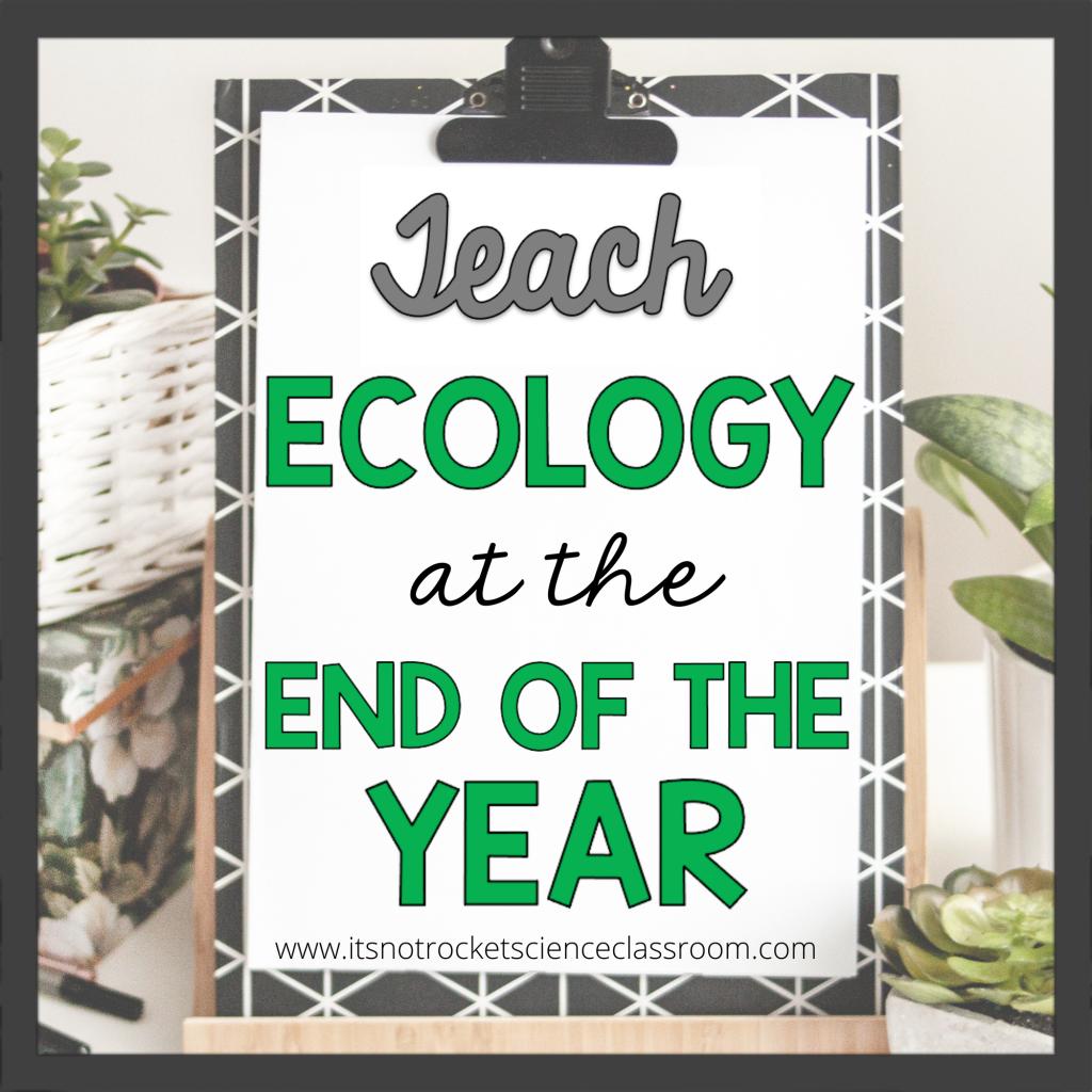teach ecology