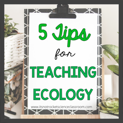 5 tips for teaching ecology