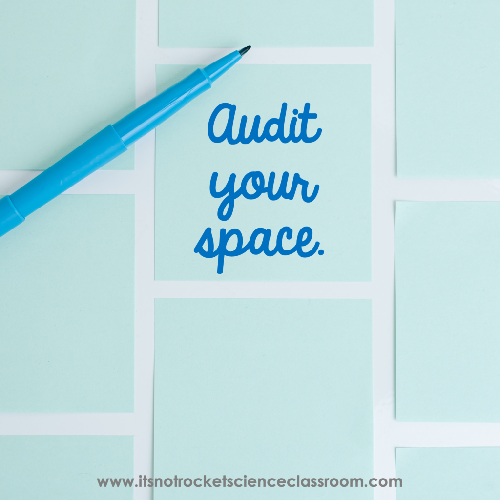 Audit your space