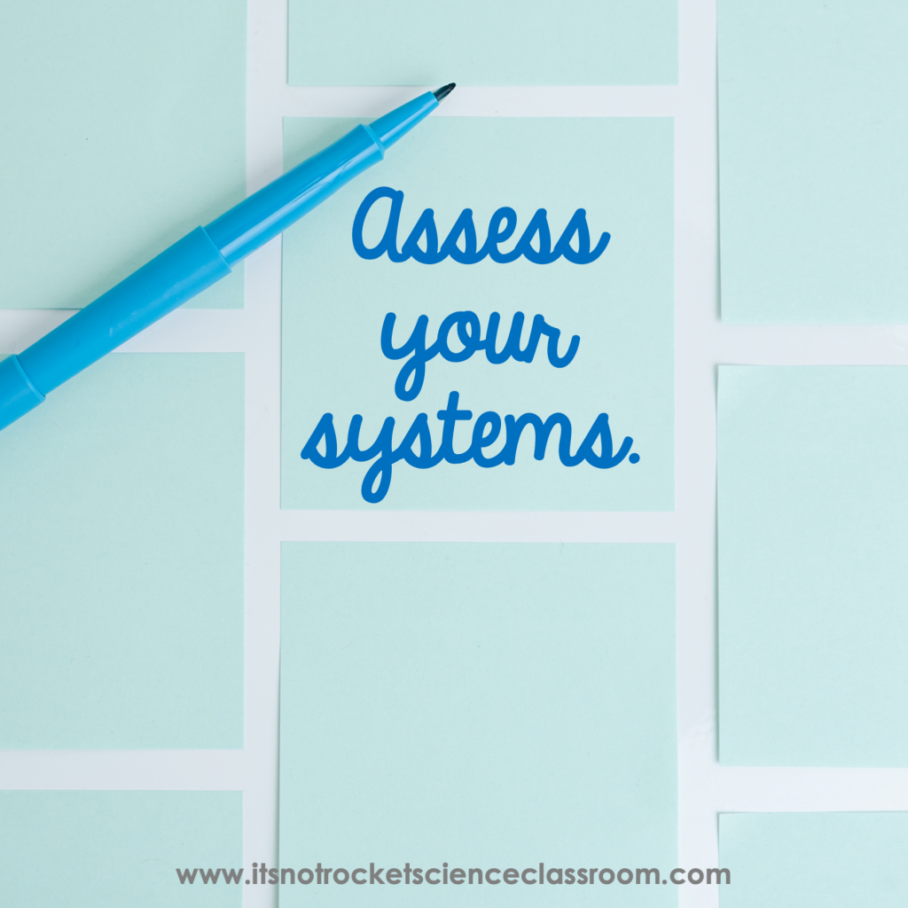 Audit your systems