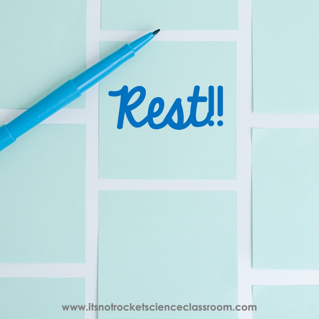 Rest!!