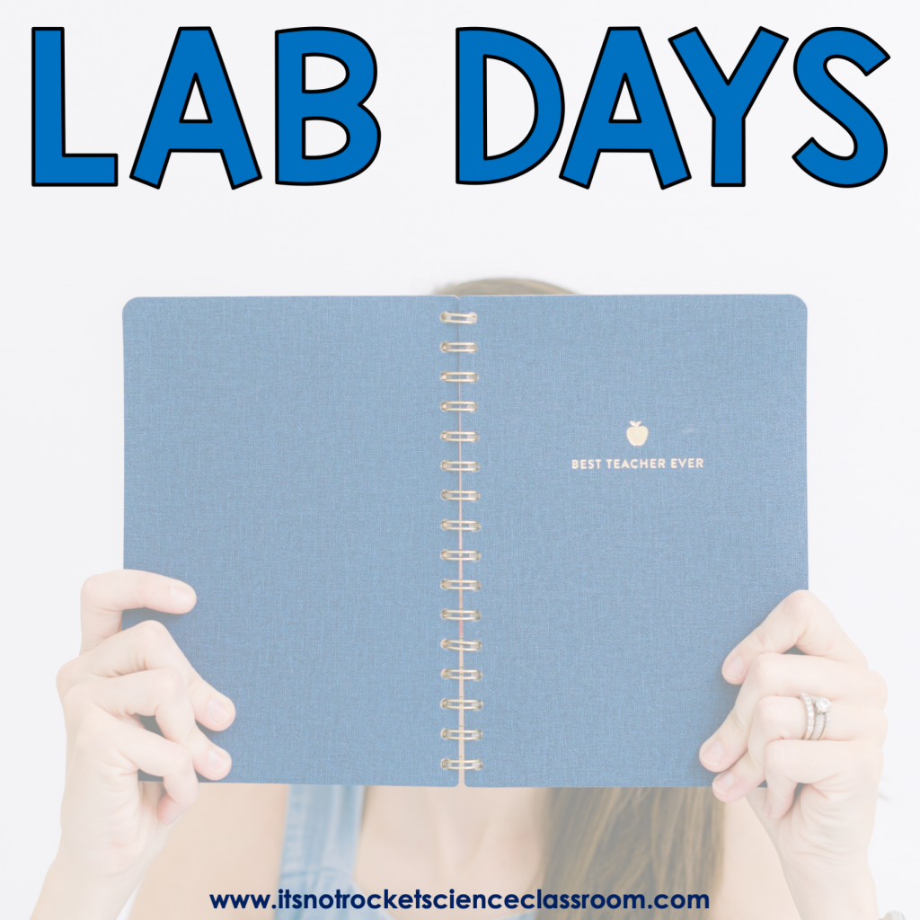 Procedures to teach: lab days