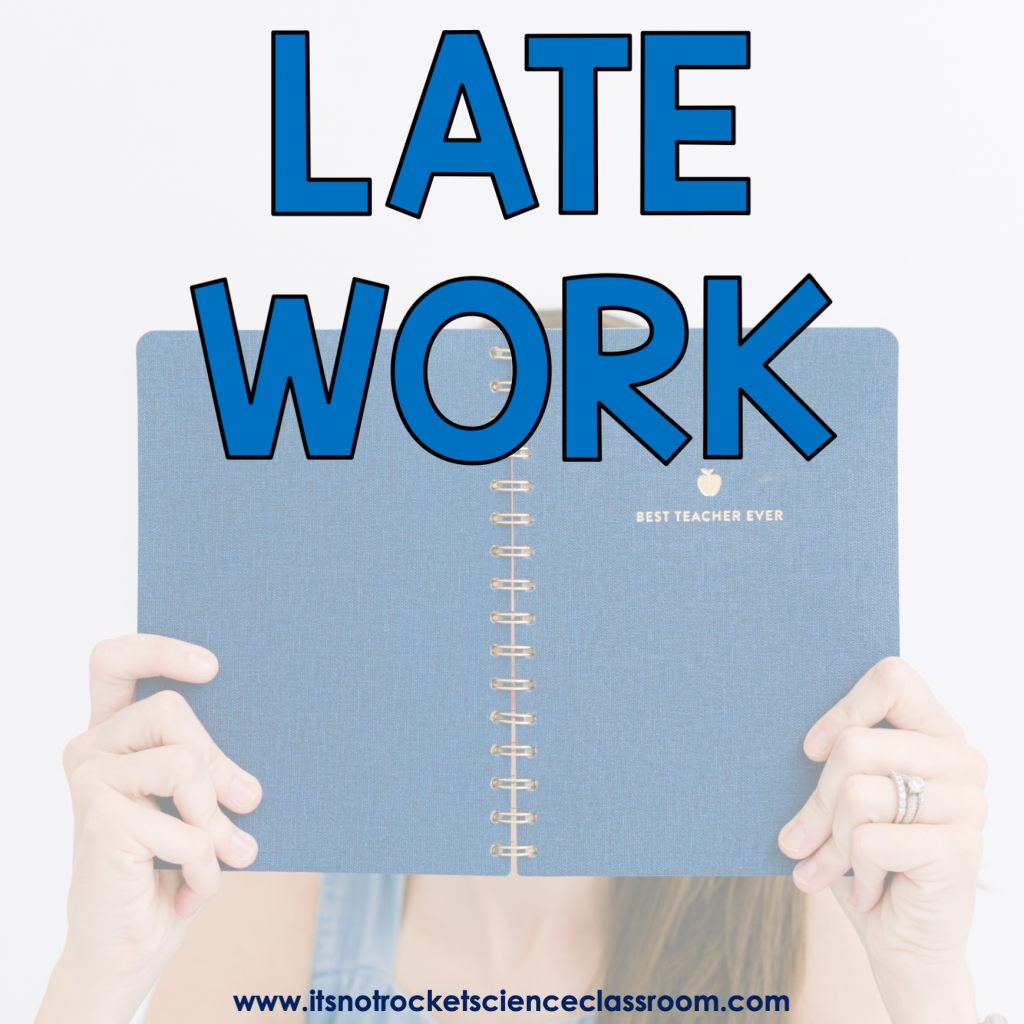 Procedures to teach: late work