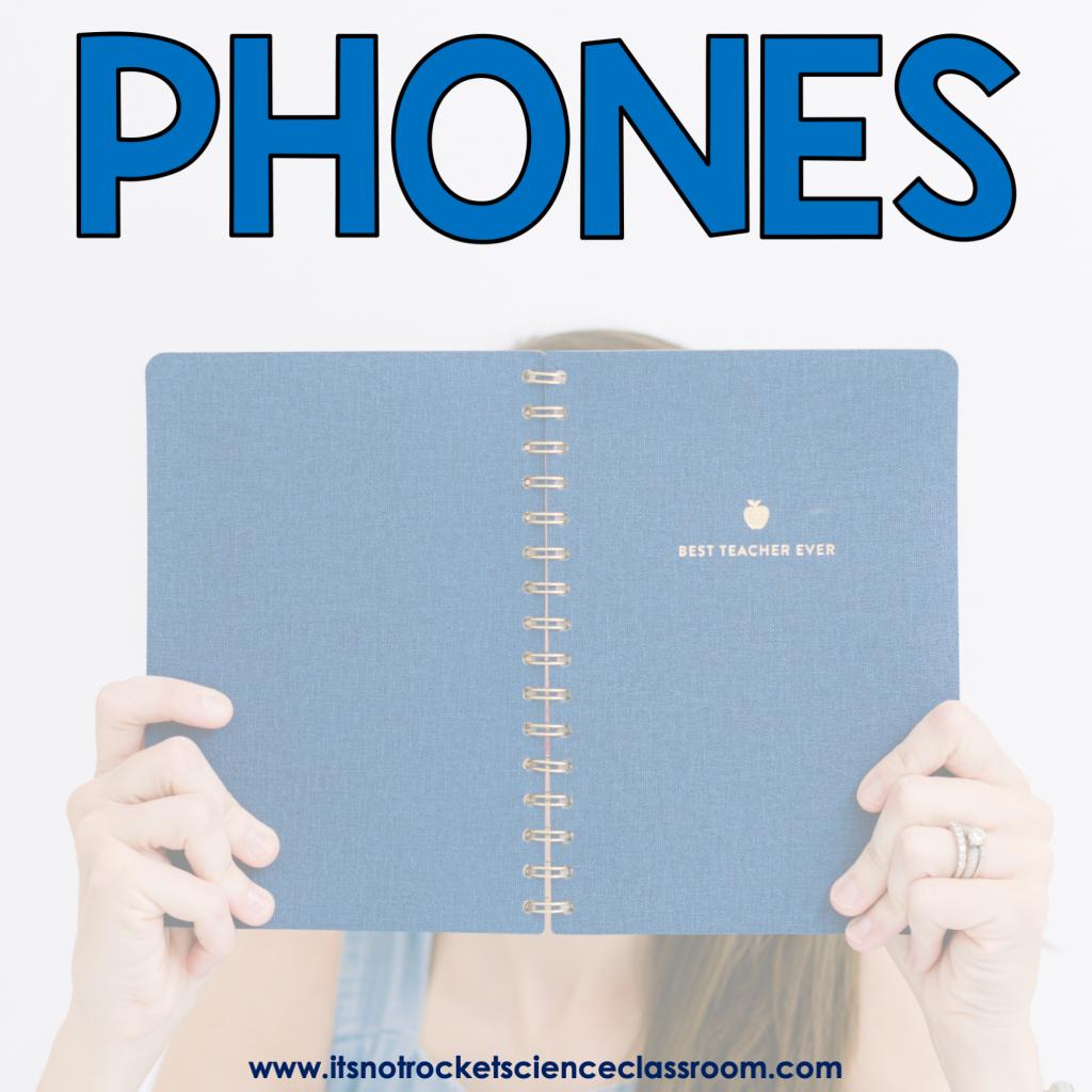 Procedures to teach: phones