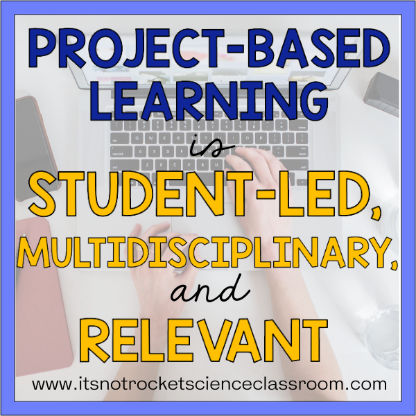project-based learning in high school science
