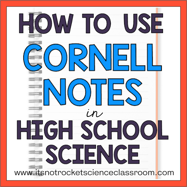 how to use Cornell notes